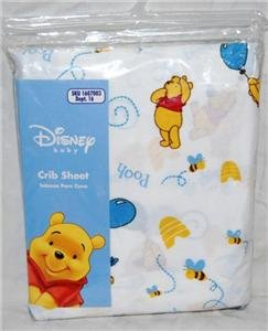 Disney's Winnie the Pooh Crib Sheet - 1