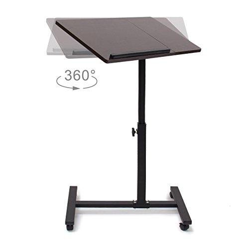 relaxdays laptoptisch h henverstellbar h x b x t 95 x 60. Black Bedroom Furniture Sets. Home Design Ideas