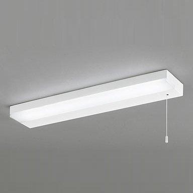 ODELIC LEDキッチンライト 手元灯 FL20W相当 昼白色 消費電力12W 棚下面取付専用 薄型タイプ 紐スイッチ付き 100V用 OB255165