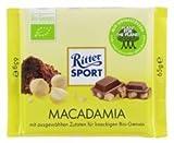 Ritter Sport - Bio Macadamia Nuts, chocolate with 35% cocoa - 65gr