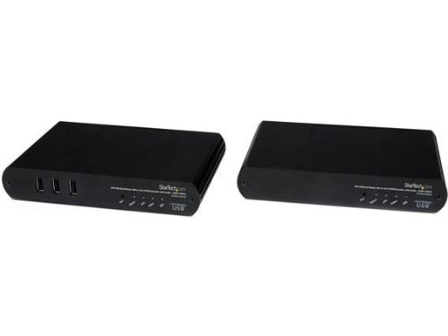 Startech.Com SV565LANDUA 330-Feet Usb Dvi Kvm Console Ip Extender Over Cat5 with Audio