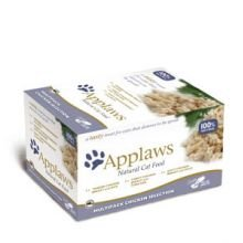 Applaws Cat Food Pot Multi Pack Chicken Selection 8 x 60g 480g