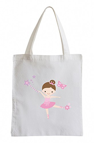 Raxxpurl ballerina in rosa-pink tutu Fun sacchetto di iuta