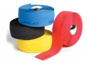 XLC Cork Gel Handlebar Tape, Blue