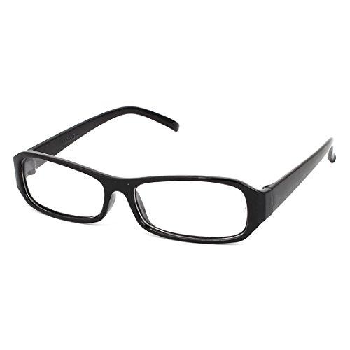 plastik-rechteck-len-voll-rand-einzeln-brucke-einfache-glaser-schwarz-klar-schwarzdurchsichtig-damen