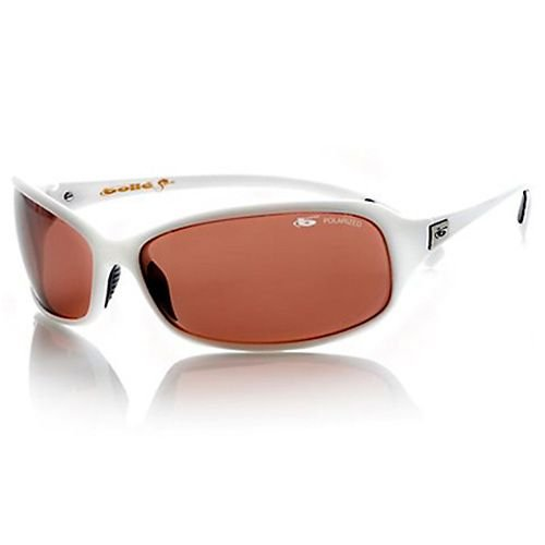Bolle Sport Serpent Sunglasses (White/Polarized Sandstone Gun)