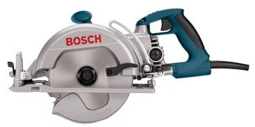 FactoryReconditioned Bosch 1677MRT 71/4Inch Wormdrive Construction Saw w/ Rear Handle