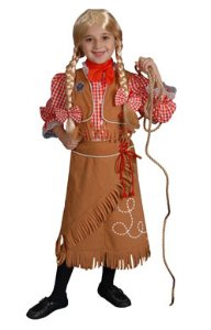 Cowgirl Toddler Costume Size 2T
