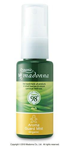 オーガニックマドンナ アロマガードミスト35ml〈ミニタイプ〉(オーガニック98%配合・虫よけアロマミスト)