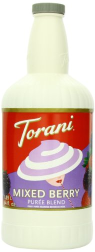 Torani Puree Blend, Mixed Berry, 64 Ounce (Pack Of 2)