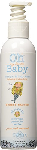 Oh my devita Baby Bubbly Babies Bodywash and Shampoo, Calming Calendula, 6 fl oz