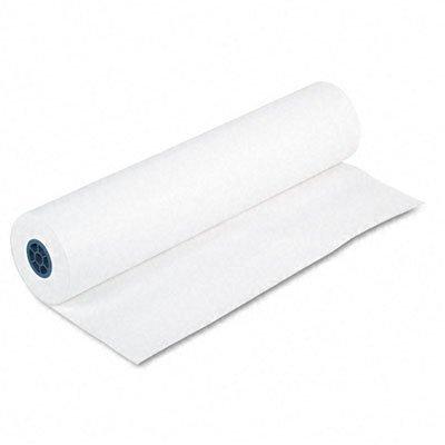 pacon 5636 kraft paper roll 40 lb white kraft 36 x. Black Bedroom Furniture Sets. Home Design Ideas
