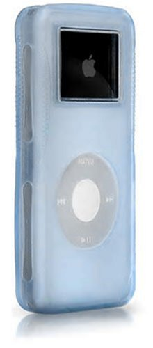 iSkin DUON-C1C1 Duo case for iPod nano - Arctic Frost (Pale Blue Outer, Clear Inner)