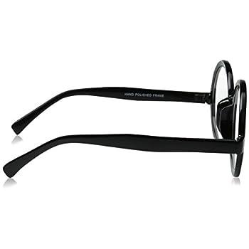 zeroUV - Vintage Inspired Eyewear Round Circle Clear Lens Glasses Eyeglasses