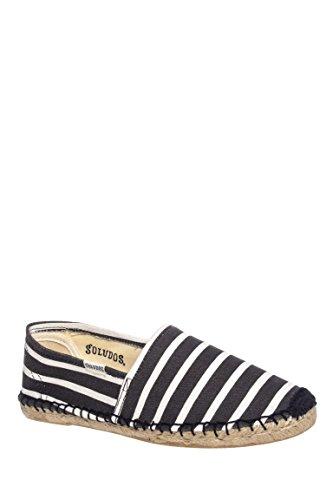 W Classic Stripe Flat Espadrille