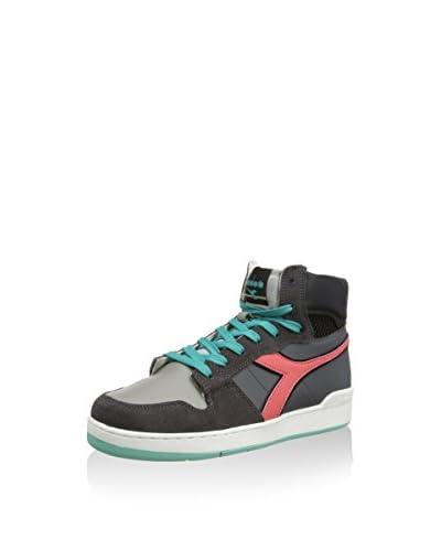 Diadora Sneaker Alta Basket 80 Act [Bianco/Multicolore]