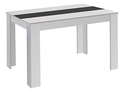 Cavadore-80346-Tisch-Nico-160-x-90-x-75-cm-Melamin-wei-mit-Wendeplatte-schwarz-wei