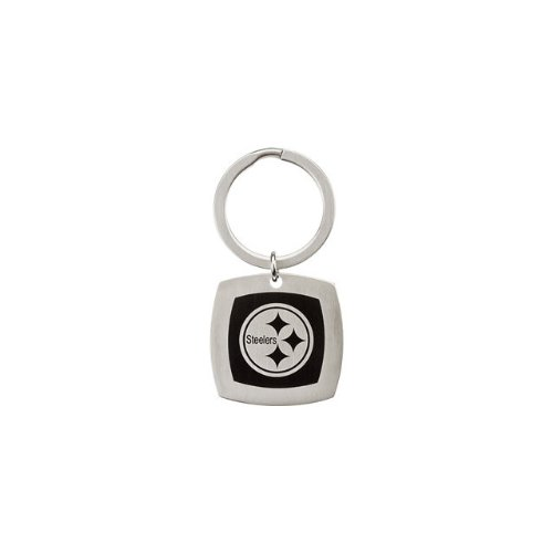 24597 St Steel 35mm Pittsburgh Steelers Logo Keychain Football NFL Men Team Jewelry