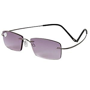 liansan titanium rimless reading glasses