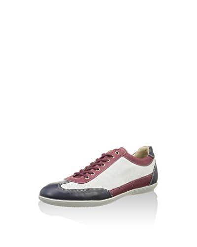 RRM Sneaker Split Leather [Bianco/Blu/Granato]