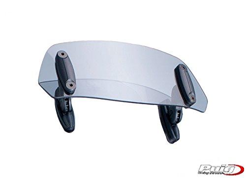 PUIG-6007W: visiera Deflettore aria Multiregulable cupulas stabilita con viti, 230 x 90 mm