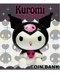Hello Kitty Coin Bank - Kuromi