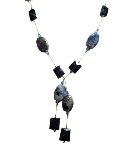 Tania's Treasures Jewelry Unique Artisan Lariat Necklace,
