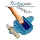 Footmate System Foot Scrubber w/ Rejuvenating Gel (Blue with Blue on Blue)