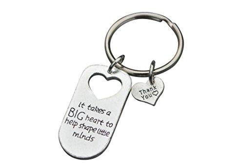 Teacher Keychain, Teacher Jewelry, Teacher Gift - Show Your Teacher Appreciation