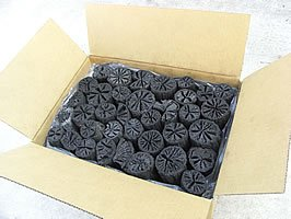 最高級 黒炭 椚(クヌギ)炭 3kg  火鉢、囲炉裏~消臭用に♪ 日本製