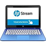 "HP Stream 13-c000 13-c002dx 13.3"" Touchscreen Notebook - Intel Celeron N2840 Dual-core (2 Core) 2.16 GHz - Blue Horizon K3N16UA#ABA"
