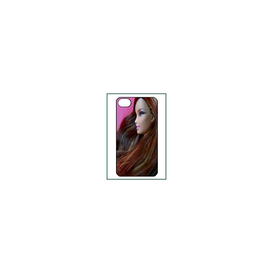 Barbie iPhone 4 iPhone4 Black Designer Hard Case Cover