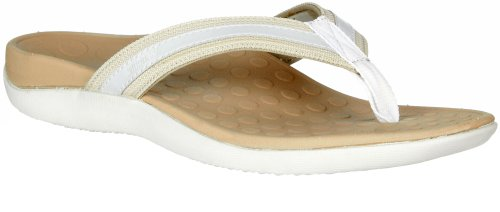 Womens Orthaheel Tide (7,White/Natural)