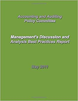 Management's Discussion And Analysis Best Practices Report
