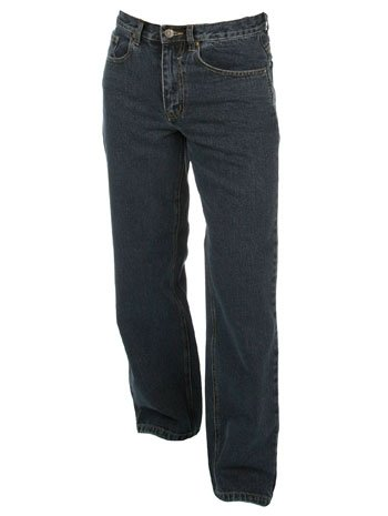 Dark Blue Jeans For Halloween Costumes - 34/30