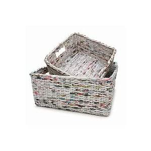 Neu Home Recycled Newspaper Baskets