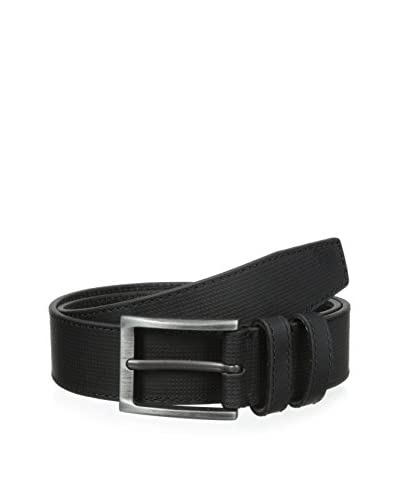 J.Campbell Los Angeles Men's Double Loop Cut-Edge Belt