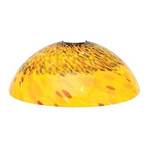 Access lighting 965rj amb fire bowl glass shade hanging for Hanging fire bowl
