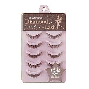 ダイヤモンドラッシュ Diamond Lash つけまつげ リッチブラウンシリーズ バンビeye