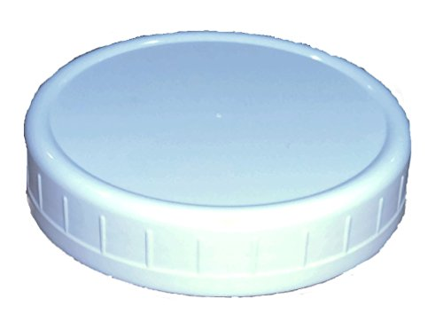 Wide-Mouth Reusable Plastic Lids for Canning Jars, 8 Count, Mainstays (Plastic Canning Jar Lids compare prices)