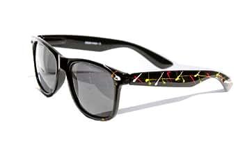 Paint splatter wayfarer sunglasses