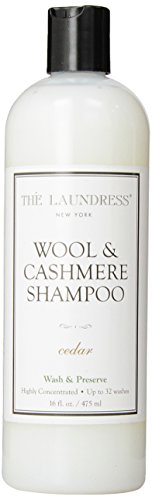 The Laundress Wool & Cashmere Shampoo, Cedar, 16 fl. oz. - 32 loads