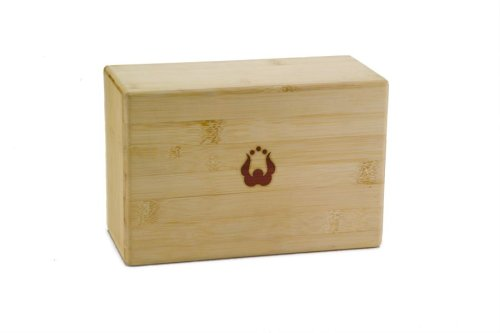 Natural Fitness Bamboo Yoga Block (4