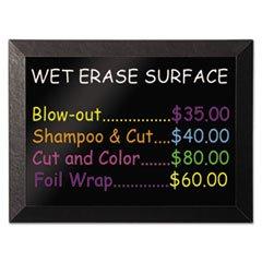 * Kamashi Wet-Erase Board, 36 x 24, Black Frame