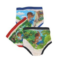 Buy Fruit of the Loom Toddlers Go Diego 3-Pack Brief 237t