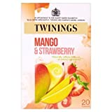Twinings Strawberry and Mango Caffeine Free Tea 20 40g