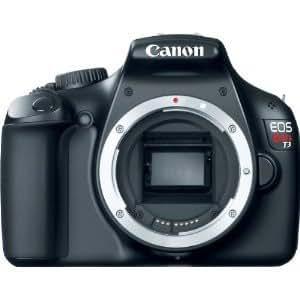 Canon Rebel T3 12.2 MP Body (Broken Kit Box) w/ Supplied Manufacturer Accessories