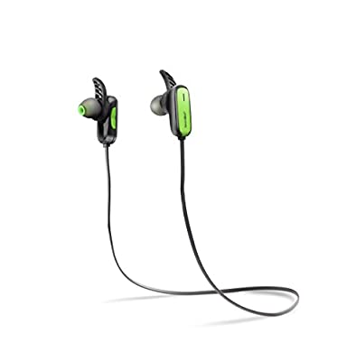 SoundBot® SB551 Bluetooth Headphone Sport Active Earbud Multi-point Wireless Headset w/ Built-in Battery for Music Streaming & HandsFree Calling for 5 Hours of Talk Time, 150 Hours of Standby Time w/ MicroUSB Charging Port & Cable Included.