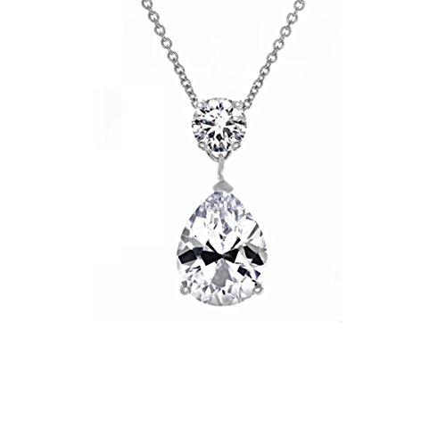 375-ct-cubic-zirconia-pear-drop-necklace