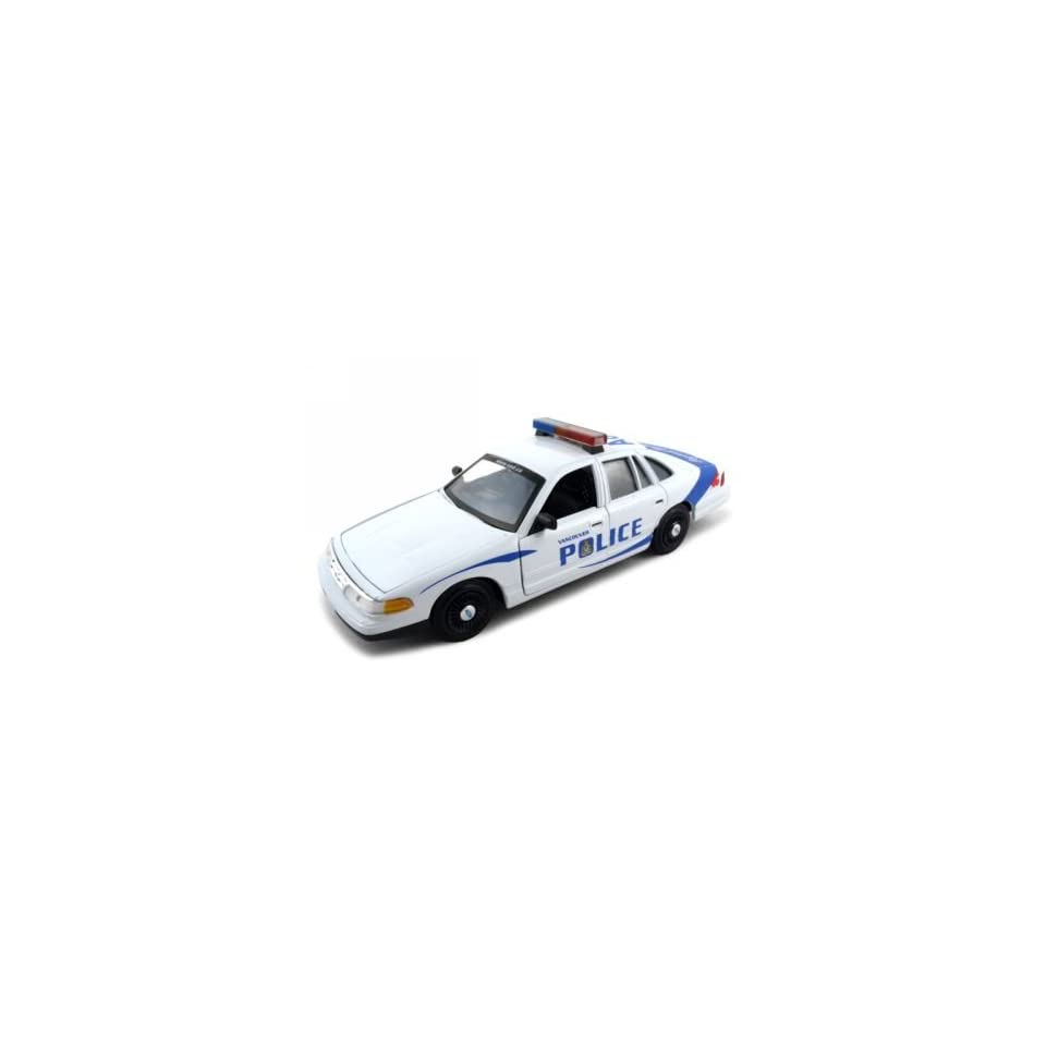 Ford Crown Victoria Vancouver Police Car 124 Diecast Model